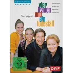 Vier Frauen und ein Todesfall - Staffel 4 [2 DVDs] - Adele Neuhauser, Miriam Stein, Martina Poel, Brigitte Kren Filmy