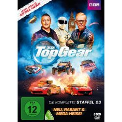 Top Gear - Season 23 [3 DVDs] - Matt LeBlanc, Chris Evans, Sabine Schmitz, Chris Harris, Eddie Jordan Filmy