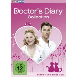 Doctor`s Diary - Collection - Staffel 1-3 - Ursela Monn, Diana Amft, Pegah Ferydoni, Florian David Fitz, Kai Schumann Pozostałe