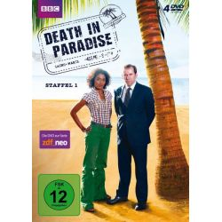 Death in Paradise - Staffel 1 [4 DVDs] - Ben Miller, Sara Martins, Danny John-Jules, Gary Carr Filmy