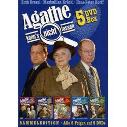 Agathe kann's nicht lassen - Sammel Edition [5 DVDs] - Ruth Drexel Filmy