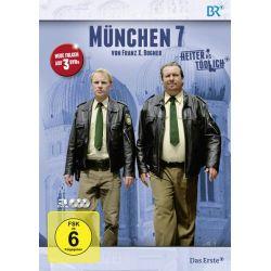 München 7 - Staffel 3 [3 DVDs] - Andreas Giebel, Florian Karlheim, Monika Gruber, Julia Koschitz, Dorothee Hartinger Płyty DVD