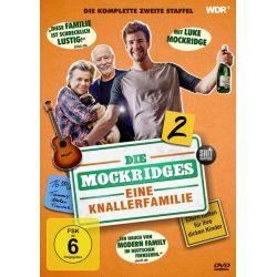 Die Mockridges - Eine Knallerfamilie - Staffel 2 - Luke Mockridge, Jeremy Mockridge, Bill Mockridge, Margie Kinsky, Anna Stieblich Płyty DVD