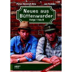 Neues aus Büttenwarder - Folge 1 - 8 - Jan Fedder, Peter Heinrich Brix, Günter Kütemeyer, Axel Olsson, Harald Maack Płyty DVD