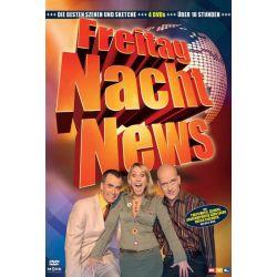 Freitag Nacht News - Die besten Szenen [4 DVDs] - Henry Gründler, Ruth Moschner Płyty DVD