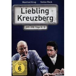 Liebling Kreuzberg - Folge 10-18 [3 DVDs] - Manfred Krug, Stefan Reck, Corinna Genest, Anja Franke, Roswitha Schreiner Płyty DVD