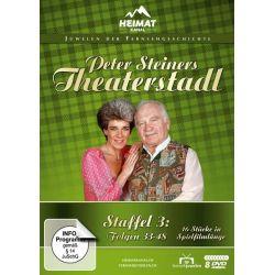 Peter Steiners Theaterstadl - Staffel 3/Folgen 33-48 [8 DVDs] - Peter Steiner, Gerda Steiner Płyty DVD