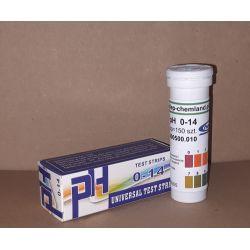Paski lakmusowe uniwersalne do pomiaru pH 0-14, 150 sztuk Zdrowie i Uroda
