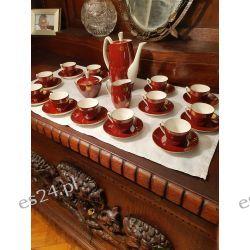 Serwis do kawy Aldona Chodzież, 12 osobowy. Lata 60te Antyki i Sztuka