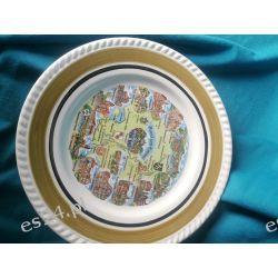 Talerz kolekcjonerski - dekoracyjny z zawieszką