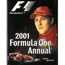 2001 Formula One Annual Manshell Nigel album