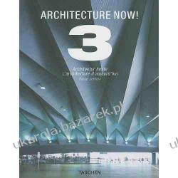 Architecture Now! 3 album architektura Philip Jodidio Benedikt Taschen