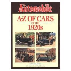 The automobile A-Z of Cars of the 1920s Baldwin Nick Kalendarze ścienne