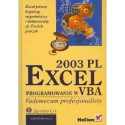 Excel 2003 PL Programowanie w VBA Vademecum profesjonalisty Ogród - opracowania ogólne