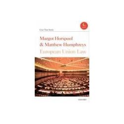 European Union Law Horspool Margot Humphreys Matthew Pozostałe