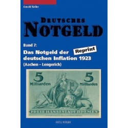 Deutsches Notgeld Band 7 u 8 Keller Arnold Gietl Verlag