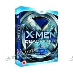 X-Men Quadrilogy - X-Men / X-Men 2 / X-Men: The Last Stand / X-Men Origins: Wolverine (Blu-Ray) Hugh Jackman,  Patrick Stewart