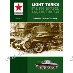 Light Tanks T-27, T-38, BT, T-26, T-40, T-50, T-60, T-70  Kalendarze ścienne
