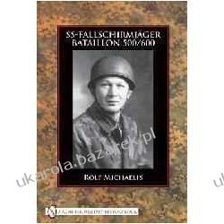 SS Fallschirmjäger Bataillon 500/600 Rolf Michaelis Napoje, drinki