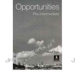 Opportunities Global Pre-Intermediate Quick Tests Kalendarze ścienne