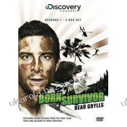 Born Survivor Bear Grylls Series 1-4 Box Set 21dvd Kalendarze ścienne