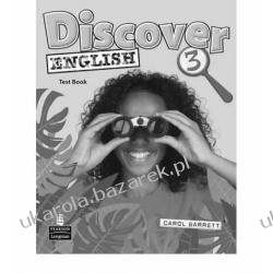 Discover English 3 Test Book książka z testami