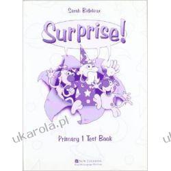 Surprise!: Primary 1 Test Book S Bideleux Zagraniczne