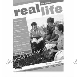 Real Life Global Intermediate Test Book and Test Audio CD Pack