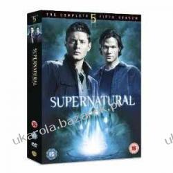 Supernatural Complete Fifth Season DVD Pozostałe