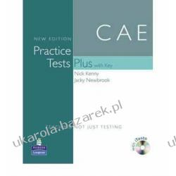 Practice Tests Plus CAE New Edition Students Book with Key/CD-ROM Pack Nick Kenny Jacky Newbrook