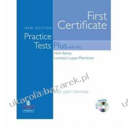 Practice Tests Plus FCE New Edition Students Book with Key CD-ROM Pack  Kalendarze ścienne