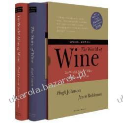 The World of Wine The Boxed Set Atlas win świata Johnson Hugh Robinson Jancis Kalendarze ścienne