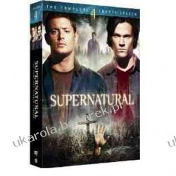Supernatural Complete Fourth Season DVD Nie z tego świata sezon 4