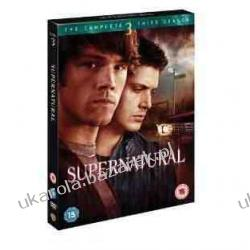 Supernatural The Complete Third Season DVD Nie z tego świata sezon 3