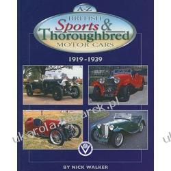 A-Z British Sports & Thoroughbred Motor Cars 1919-1939 Walker Nick Kalendarze ścienne
