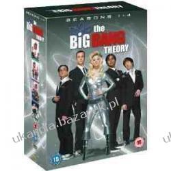 Big Bang Theory Season 1-4 Complete DVD Teoria Wielkiego Podrywu Kalendarze ścienne