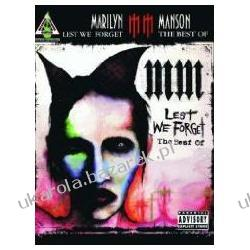 LEST WE FORGET Best of Marilyn Manson-Guitar Tab-Music Book Marilyn Manson