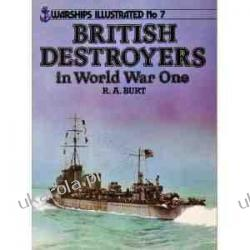 British Destroyers of World War One (Warships Illustrated)