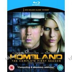Homeland Season 1 Blu-ray Płyty Blu-ray