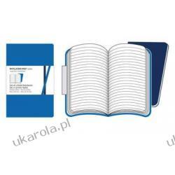 Moleskine Volant Notebook Large Ruled Blue Albumy i czasopisma