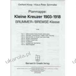 Planmappe: Kleine Kreuzer 1903 - 1918: Brummer- / Bremse-Klasse Nauka gry na instrumentach