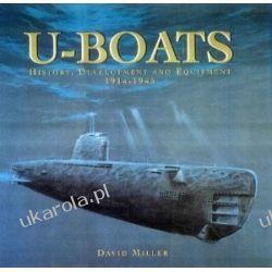 U-boats: History, Development and Equipment, 1914-1945 D.M.O. Miller  Kalendarze ścienne