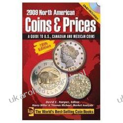 2009 North American Coins & Prices: A Guide to U.S., Canadian and Mexican Coins With DVD David C. Harper Kalendarze ścienne