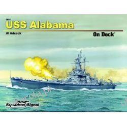 USS Alabama - On Deck No. 1  Marynarka Wojenna