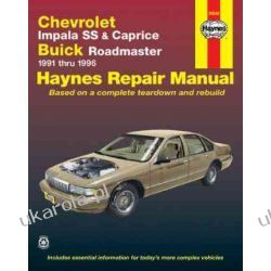 Chevrolet Impala SS and Caprice, Buick Roadmaster (1991-96) Automotive Repair Manual (Haynes Automotive Repair Manuals) Pozostałe