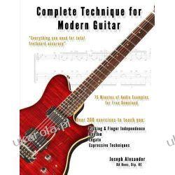 Complete Technique for Modern Guitar Kalendarze ścienne