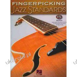 Fingerpicking Jazz Standards (Jazz Guitar Chord Melody Solos) Podręczniki i ćwiczenia