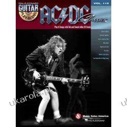 Guitar Play Along Volume 119 Ac/Dc Classics Guitar Book/Cd (Hal Leonard Guitar Play-Along) Pozostałe