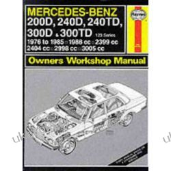 Mercedes-Benz 200D, 240D, 240TD, 300D and 300TD (123 Series) 1976-85 Owner's Workshop Manual (Service & repair manuals)