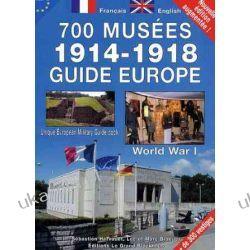 700 musées 1914-1918 guide Europe : Edition bilingue français-anglais Kalendarze ścienne